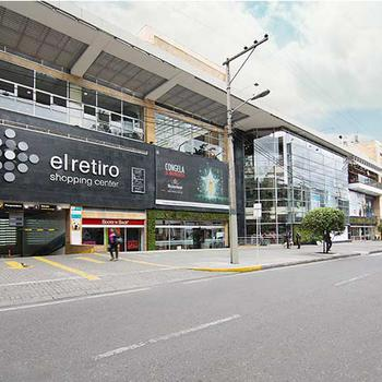 Centre Commercial El Retiro Hôtel GHL Collection Hamilton Bogota